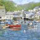 "BIRTHDAY CARD ""POLPERRO CORNWALL"" LARGE SQUARE SIZE 6.25"" x 6.25"" BLHI 1048"